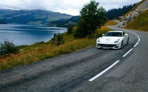 Картинка дорога, Ferrari, феррари, франция, France, Berinetta