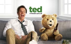 Обои Mark Wahlberg, Третий лишний, Марк Уолберг, John, Ted