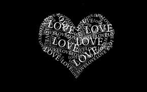 Обои love, любовь, сердце