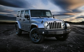 Картинка джип, Wrangler, Jeep, Unlimited, 2015, вранглер, Black Edition II