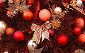 Картинка украшения, елка, новый год