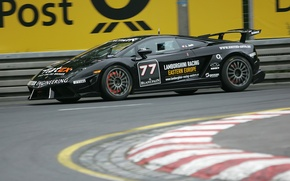 Картинка гонка, трасса, Lamborghini, Gallardo LP560