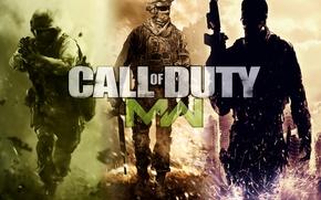 Картинка война, солдаты, call of duty, modern warfare