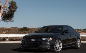 Картинка Audi, Corsa, Wheels, Exhaust, HRE
