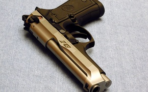Картинка Пистолет, Оружие, Gun, Wallpapers, Беретта, Weapons, Beretta, 96G, 96Джи