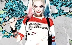 Картинка Харли Квинн, Harley Quinn, Margot Robbie, Марго Робби, Suicide Squad, Отряд Самоубийц