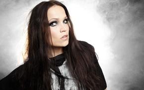 Обои nightwish, взгляд, певица, Tarja Turunen, девушка