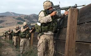 Картинка армия, солдаты, учения
