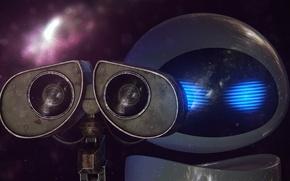 Картинка робот, wall-e, валли, rendering, jackdarton