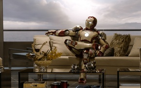 Обои Iron Man, Tony Stark, Роберт Дауни мл, Robert Downey Jr., Iron Man 3, Железный человек ...