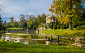 Картинка пруд, Осень, autumn, pond