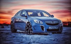Картинка машина, авто, снег, фотограф, Opel, auto, photography, photographer, Thirteen