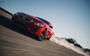 Картинка BMW, Занос, Coupe, F82, Gran Turismo 6
