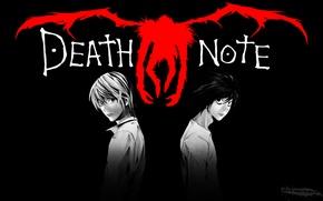 Картинка Light, Death Note, Лайт, Тетрадь смерти, Anime, Рюк, Ryuk