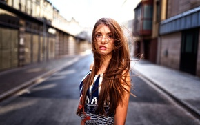 Картинка волосы, губки, зубки, кареглазая, Tania, Miro Hofmann