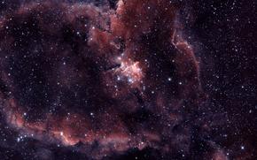 Картинка туманность, сердце, IC 1805