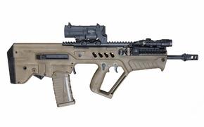 Картинка оружие, штурмовая, винтовка, фон, Тавор, TAR-21, автомат