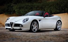 Обои Alfa Romeo, кабриолет, альфа ромео