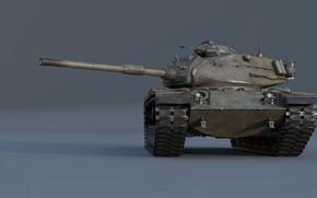 Картинка танк, США, бронетехника, средний танк, War Thunder, M60, 105 mm Gun Full Tracked Combat Tank …