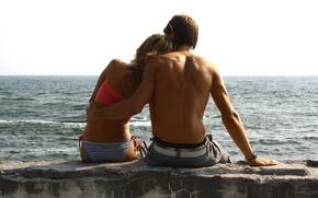 Картинка море, любовь, чувства, Лето