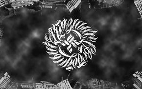 Обои Undeground, Tankograd Underground, Грязный Свободный, Music, Арт, Black & White, Wallpaper, Логотип, ОУ74, Музыка, Art, ...