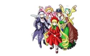 Картинка куклы, кукла, rozen maiden, шинку, Дева роза, суисейсеки, суигинто