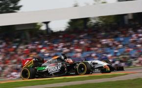 Картинка Germany, formula, formula one, sahara force india, Nico Hunkelberg., one f1, grand prix German Hockenheim