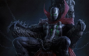 Картинка костюм, comics, anti-hero, Спаун, spawn