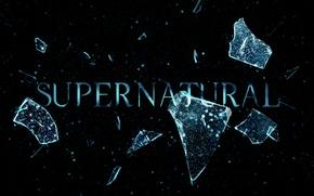 Обои сериал, стекло, разбитое, season 6, supernatural, сверхъестественное, broken, 6 сезон, spn, intro, glass, осколки