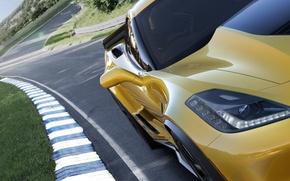 Картинка Z06, corvette, sportcar, chevrolet, chevrolet corvette, 2015