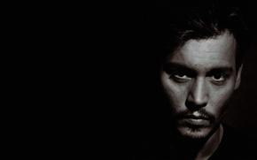 Картинка взгляд, лицо, актер, johnny depp