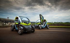 Картинка Renault, Электромобиль, Twizy