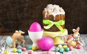 Картинка яйца, Пасха, кролики, Candy, кулич, выпечка, Easter, Baking