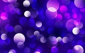 Обои свет, круги, огни, блики, обои, блеск