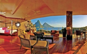 Картинка design, interior, St.Lucia, Karibic, Kuoni hotel