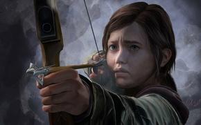Картинка девушка, элли, The Last Of Us, одни из нас