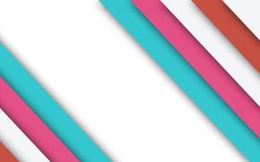 Картинка белый, линии, розовый, голубой, текстура, material