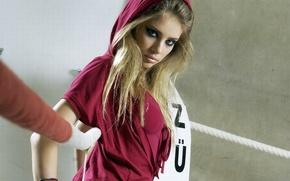 Картинка девушка, модель, ринг, Xenia Tchoumitcheva