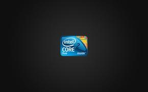 Обои Intel, core, duo