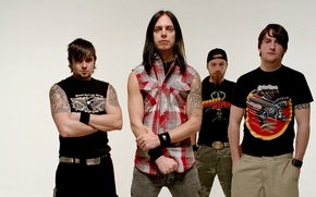 Картинка группа, rock, метал, Michael Padget, Jason James, Michael Thomas, Matthew Tuck, Bullet For My Valentine