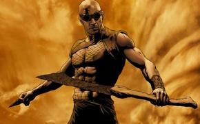 Картинка мужик, актер, Вин Дизель, Riddick