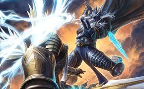 Картинка Warcraft, blizzard, diablo, warcraft, arthas, hots, Tyrael, Heroes of the Storm, Archangel of Justice
