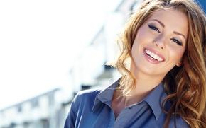 Картинка sexy, smile, model