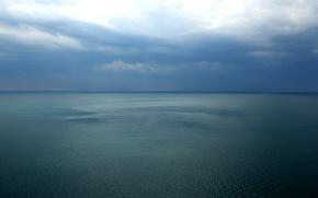 Картинка небо, облака, Море