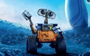 Картинка wall-e, pixar, animation