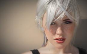 Картинка Devon, Beautiful, Lips, White Hair, Jade, Devon Jade