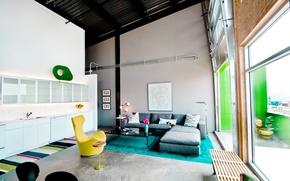 Картинка дизайн, стиль, интерьер, лофт, Glass Loft, Weishouse