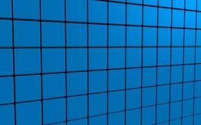 Картинка синий, кубики, текстуры