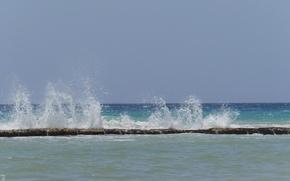 Картинка море, вода, мексика