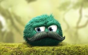 Картинка green, Android, rock, game, nature, eyes, blue eyes, woods, hair, iOS, treasure, moss, vegetation, adventure, …